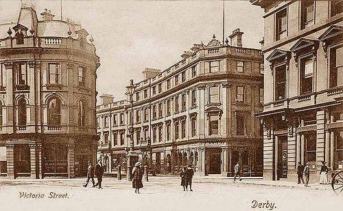 Derbyshire, Derby, Victoria Street 1900's