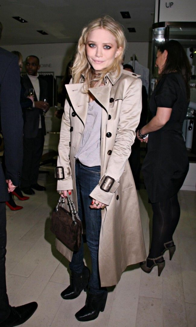 trench coat olsen style fall