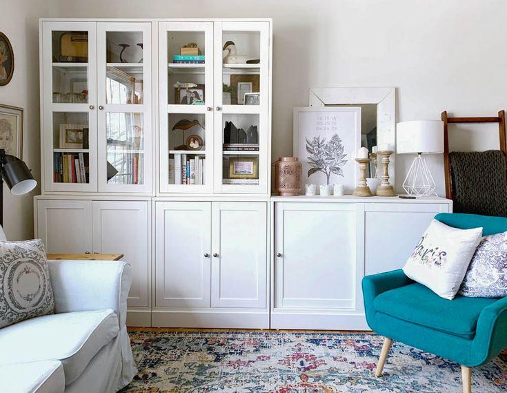 ultimate ikea havsta cabinet review  ikea living room