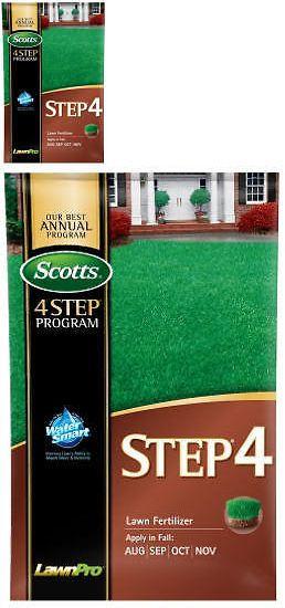 Fertilizers 119683: Scotts Lawns 2515 Step 4: Lawn Fertilizer, Covers 15,000-Sq.-Ft - Quantity 1 -> BUY IT NOW ONLY: $68.31 on eBay!