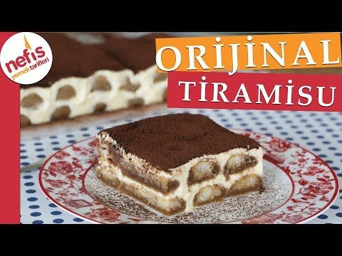 Orijinal Tiramisu Tarifi Videosu – Nefis Yemek Tarifleri
