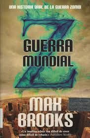 guerra mundial z, zombie, zombies, libro, libros, max brooks