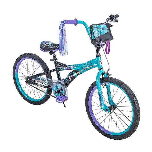 Girls 20 inch Huffy Double Take Bike