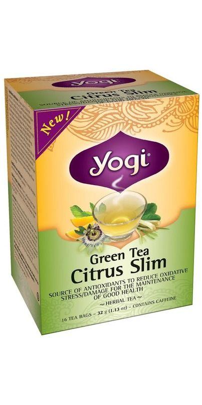 Yogi Tea Citrus Slim Green Tea