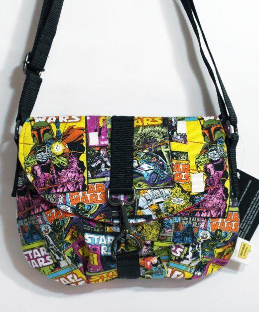 #Starwars fabric bag - Crossbody Bag - Small Handbag