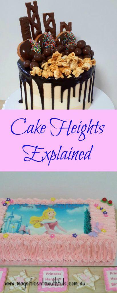 Chocolate Shard Tiered Cake