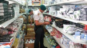 Sequestrati a Lamezia 840mila prodotti insicuri o contraffatti