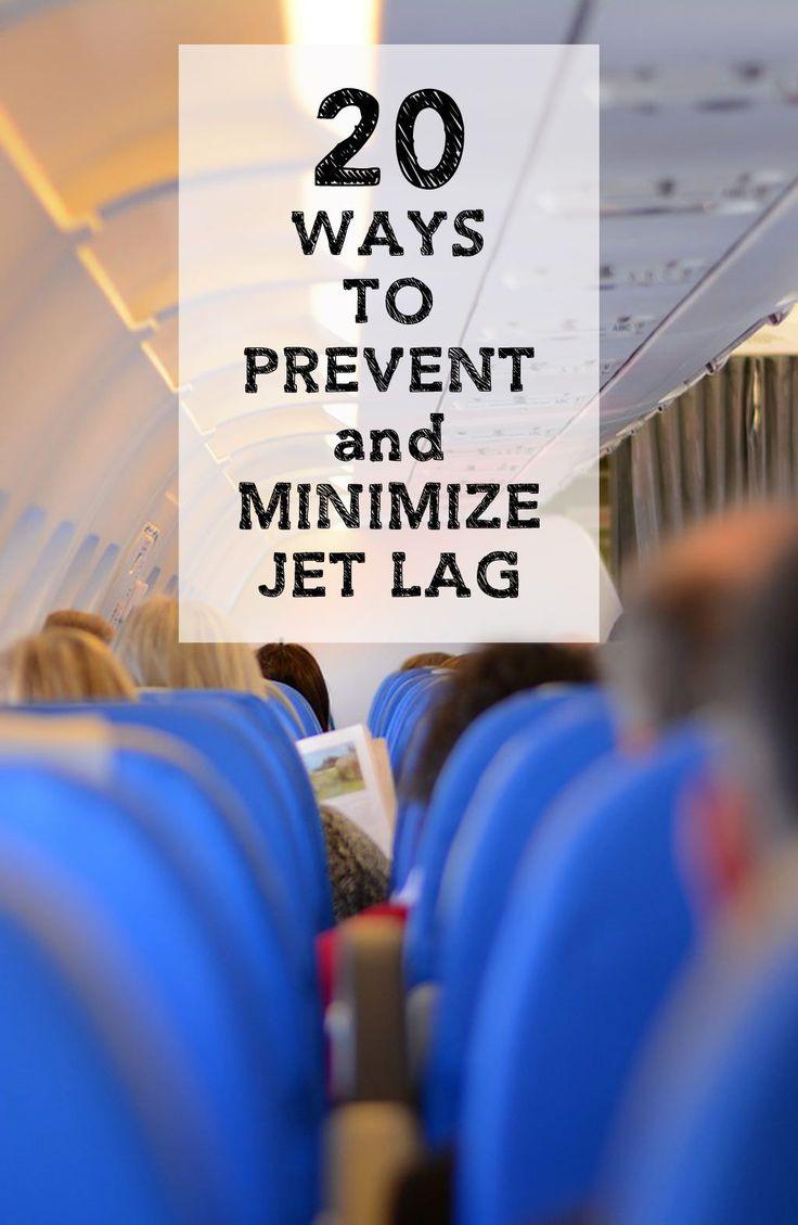 20 Ways to Prevent and Minimize Jetlag during Travel | SavoredJourneys.com