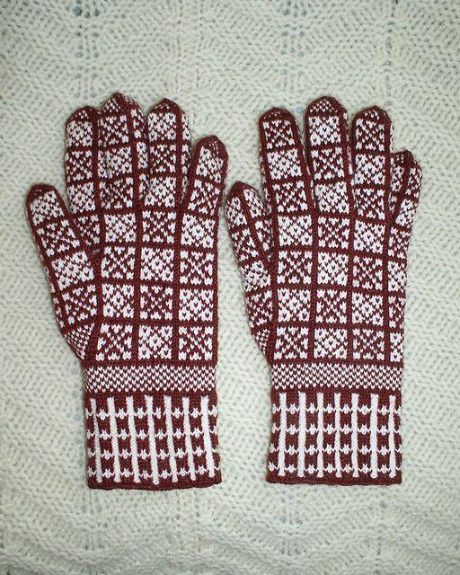 264 best Knitting : gloves images on Pinterest | Gloves, Knitting ...