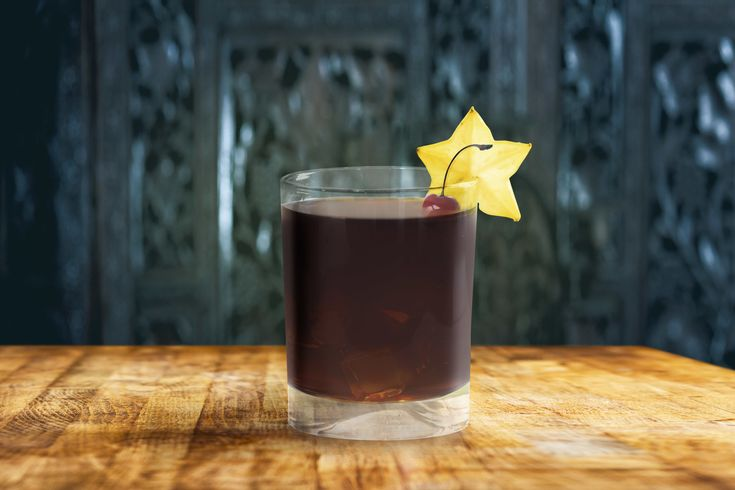 Sarsaparilla Old Fashioned 2 ounces Knob Creek Rye 1/4 oz. honey syrup (equal parts honey and warm water) 1/2 oz. Root (or another root beer liqueur)  2 dashes sarsaparilla dry bitters 1 dash vanilla bitters (or high quality vanilla extract) Star anise pod and brandied cherry, for garnish