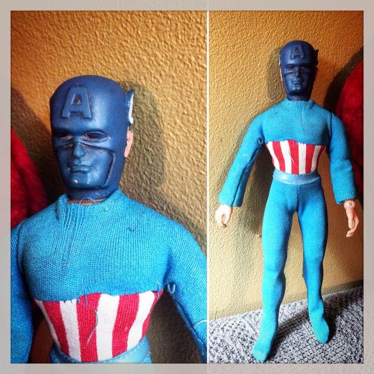 Captain America mego