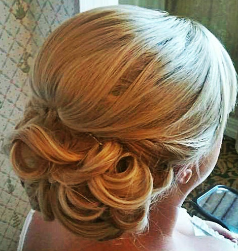 Wedding Hairstyle#orlandohairstylist#updo#weddinghair