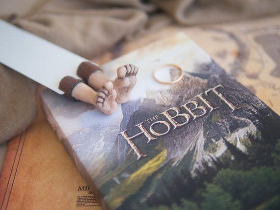 Metall - Hobbit Füße Lesezeichen - ein Designerstück von MyFactoryHub bei DaWanda