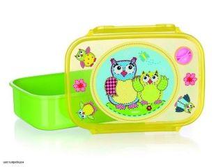 BANQUET desiatový box OWLS Green 17,5 * 12 cm 12651000G