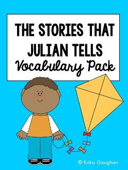 47 best novel study images on pinterest guided reading teaching the stories julian tells vocabulary pack fandeluxe Choice Image