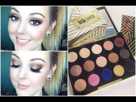 Urban Decay Gwen Stefani Palette Soft Glam Makeup Tutorial - YouTube