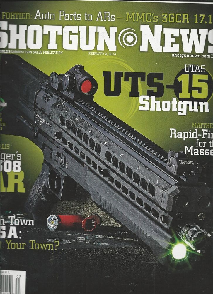 Shotgun News magazine Loading that magazine is a pain! Get your Magazine speedloader today! http://www.amazon.com/shops/raeind