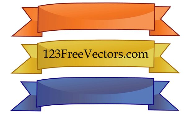 124 best banners frames vector images on pinterest vectors rh pinterest com  illustrator banner vector free download