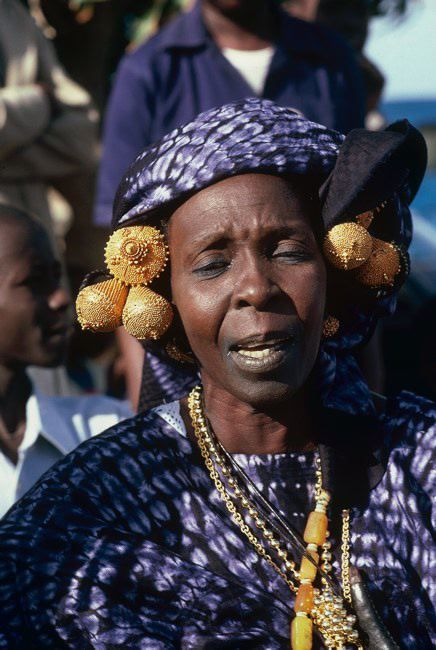 Africa | Toucouleur woman from Senegal | ©Michel Renaudeau
