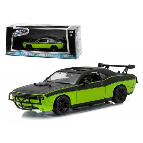 """Letty's 2014 Dodge Challenger SRT-8 """"Fast and Furious-Fast 7"""" Movie (2014) 1/43 Diecast Model Car by Greenlight"""