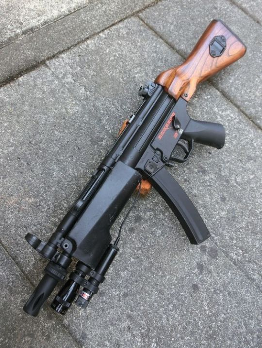 MP5 With wood furniture? http://riflescopescenter.com/category/nikon-riflescope-reviews/