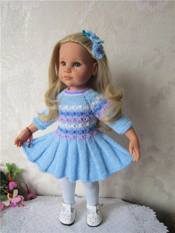 ... И заколка с незабудками для куклы своими руками / Мастер-классы, творческая мастерская: уроки, схемы, выкройки кукол, своими руками / Бэйбики. Куклы фото. Одежда для кукол