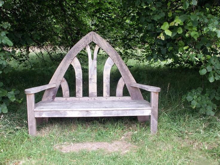 Unique bench Garden Outdoors Pinterest