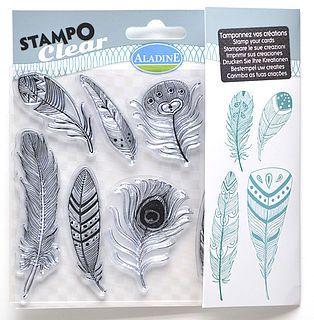 Razítka Stampo Clear, Peříčka