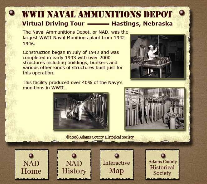hastings ne largest ammo depot in wwii created 40 of the navyu0027s ammo in
