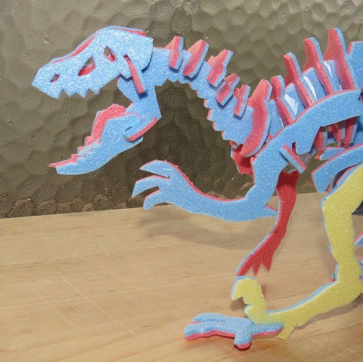 Squelette de Dinosaure à Assembler