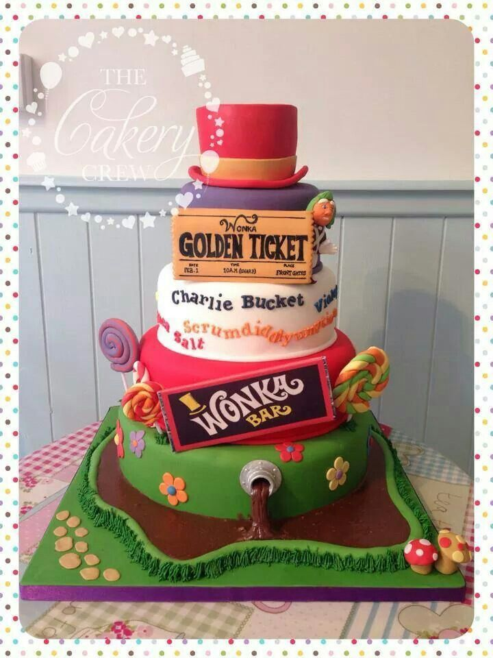 Charlie and the Chocolate Factory cake ♥