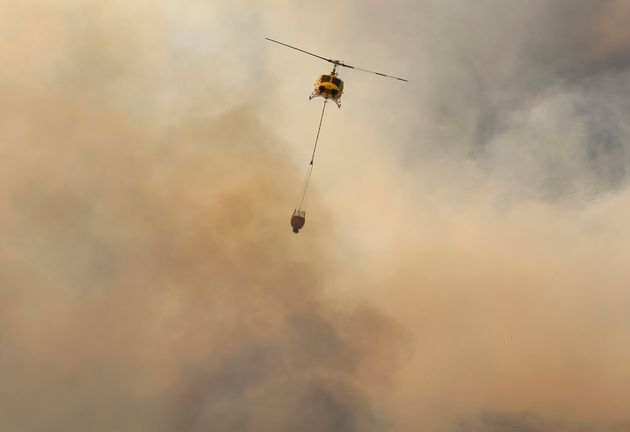 Eight homes were damaged and 300 people evacuated as firefighters battle in Muizenberg where a fire broke out over the weekend, Cape Town Disaster Risk Management said.