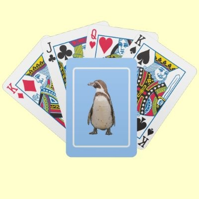 #Penguin #Playing #CardsPenguins Plays, American Penguins, Magellan Penguins, Antonuccio Penguins