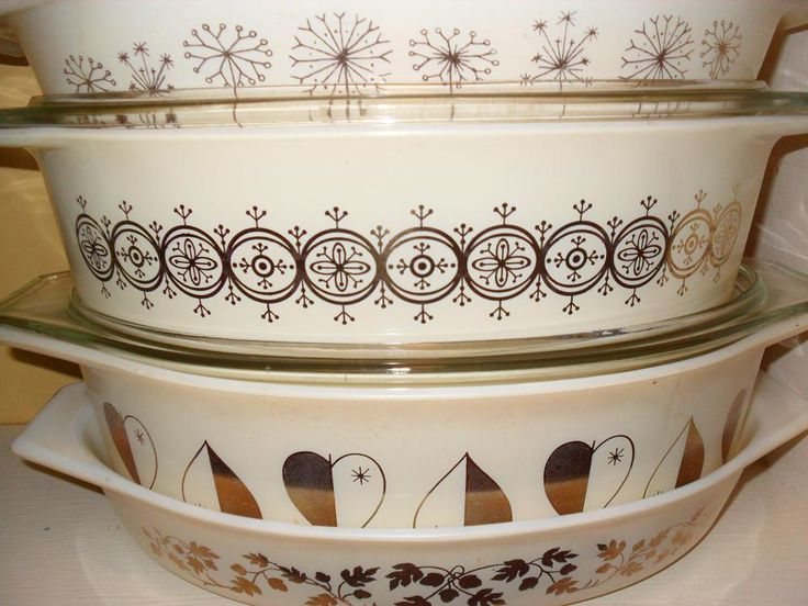 Late 50's and Early 60's Promotional Pyrex......have the hearts, need the rest!!