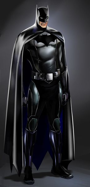 Batman Concept Study by CHUBETO on @DeviantArt