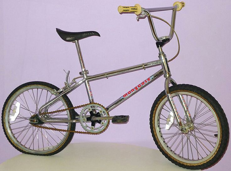 Diamondback BMX bike - Had a few mods on mine, my first chrome bike.