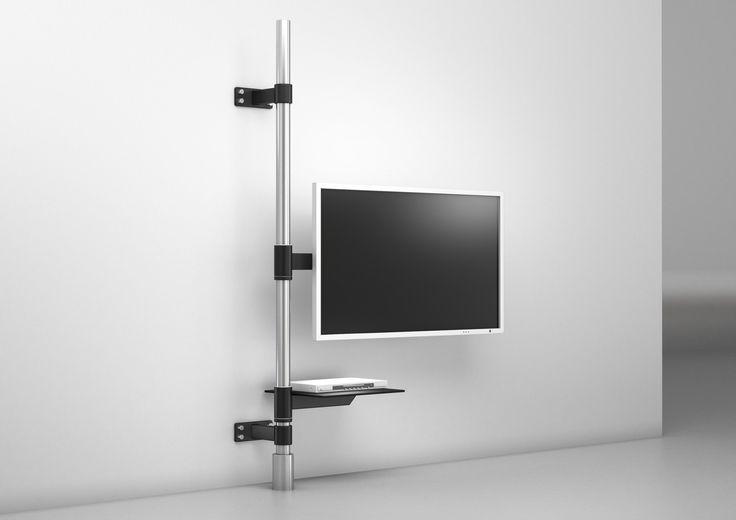 TV-Halter post art129-2 | Produktdesign | wissmann raumobjekte