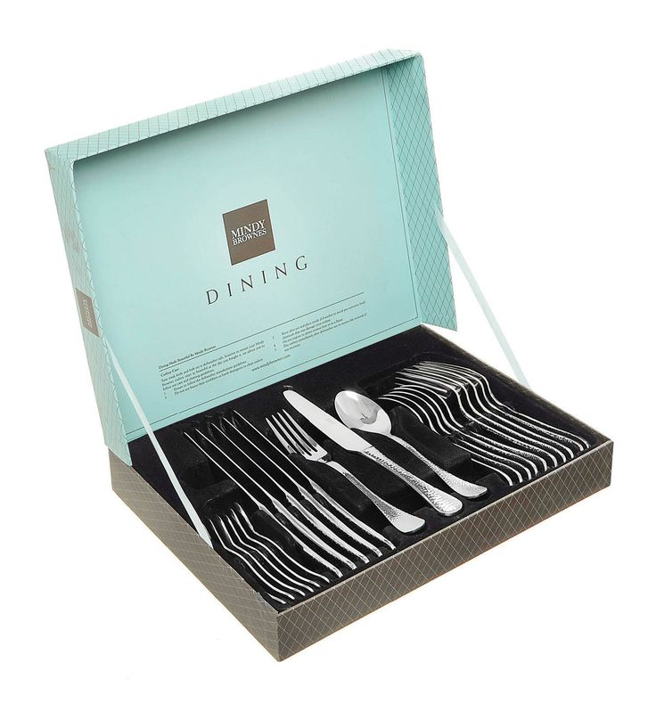 The 24 Piece Forged Cutlery Set by Mindy Brownes. Available at: http://www.standun.com/mindy-brownes-24-piece-forged-cutlery-set.html