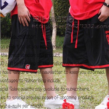Бесплатная Доставка, М-5XL, 2017 новая Мода для печати письмо And1 eslpodcast мужской короткие брюки двойной слой сетки хип-хоп шорты шорты