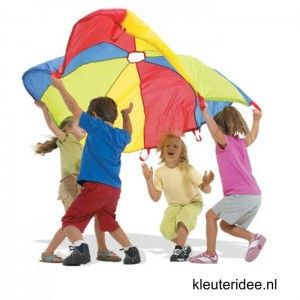 Gymles voor kleuters met parachute 5, kleuteridee.nl