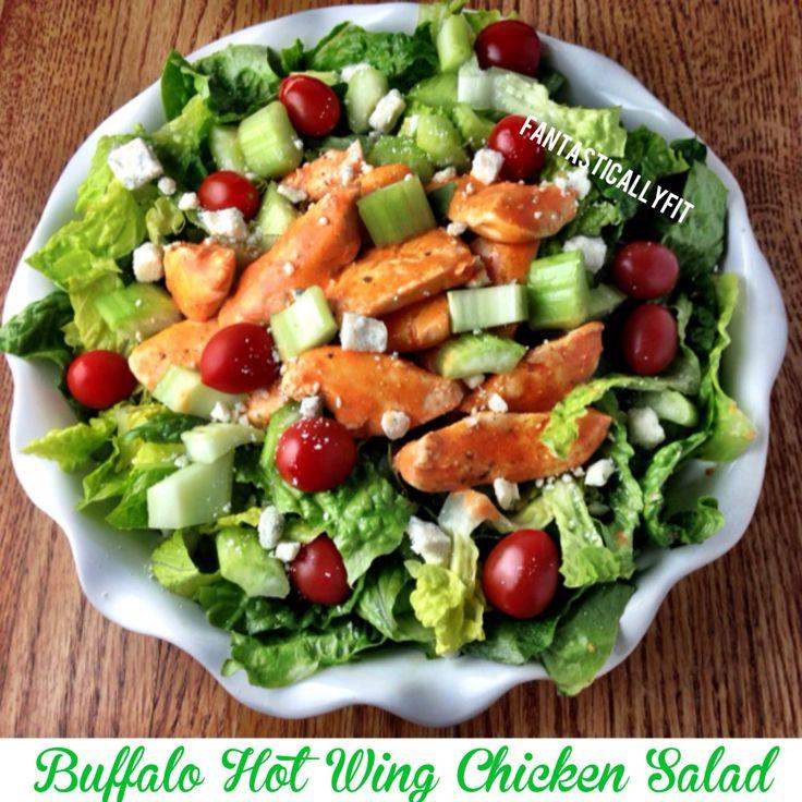 Buffalo Hot Wing Salad