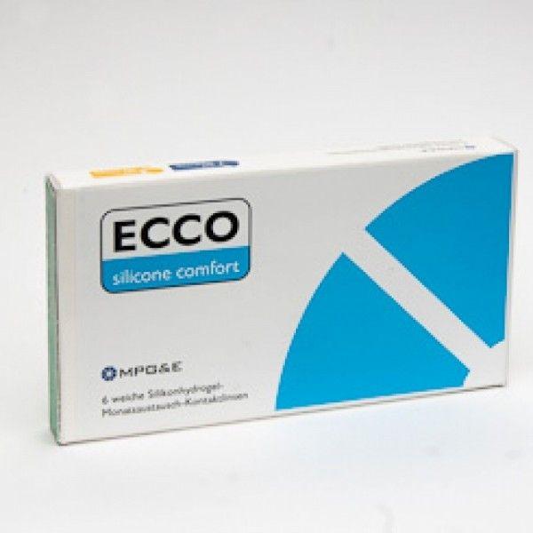 ECCO SILICONE COMFORT (6ER PACK) KONTAKTLINSEN