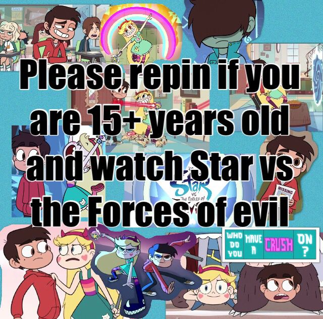Ahh yes.. almost 17. My other favorite show is Sherlock. I don't know what's wrong with me.... I guess I just got a little weird and a little wild..😉 STAR VS THE FORCES OF EVIL