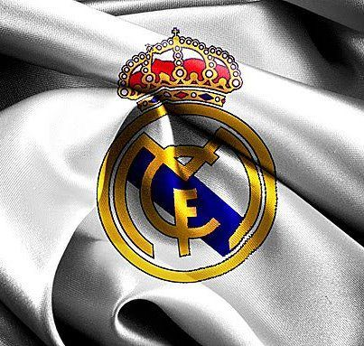 The logo of the famous Real Madrid