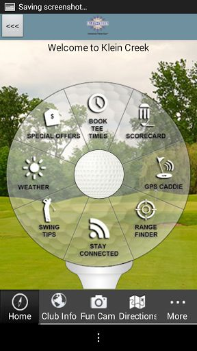 Do you enjoy playing golf at Klein Creek Golf Club in Illinois?  The OFFICIAL Klein Creek Golf Club app gives golfers a free, easy to use, interactive combination of comprehensive course information, GPS positioning, digital scorecard, augmented reality range finder, and various other useful club-specific features.<p>GPS Caddie<br>- Instantly view distances to the tee, front, back, and middle of the green, as well as par for each hole<br>- Interactive shot positioning: simply touch the shot…