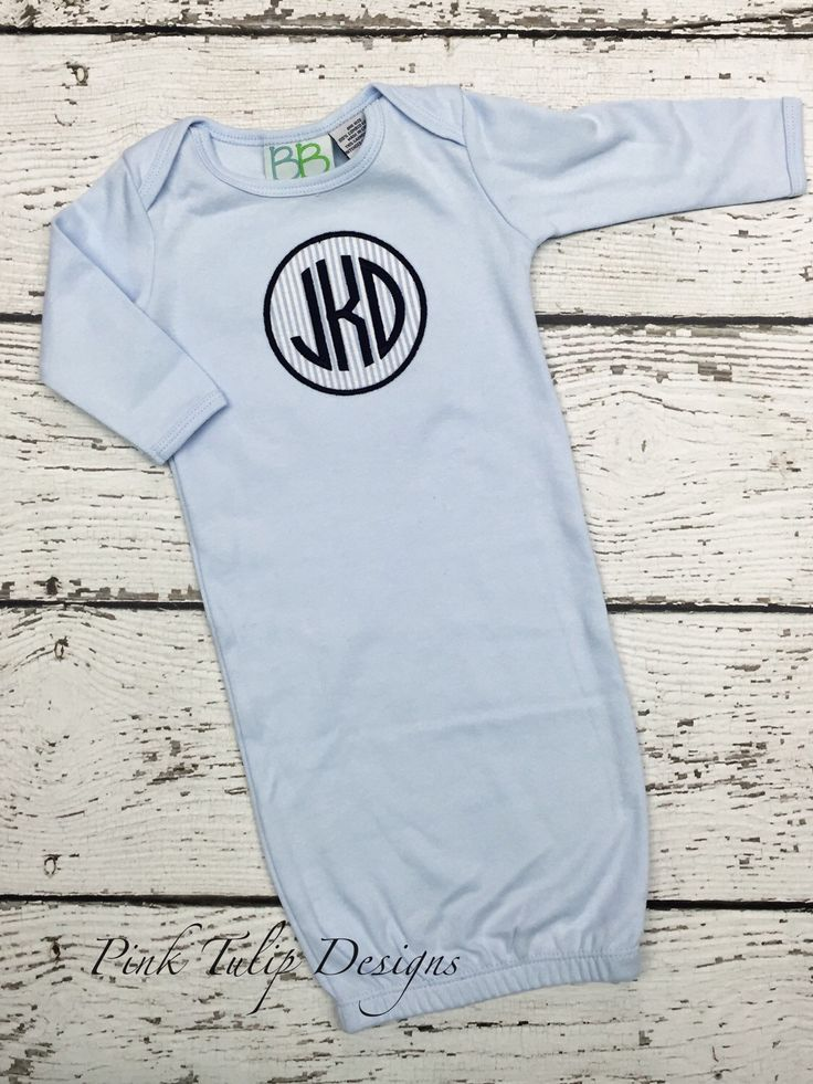 Best 25 baby boy monogram ideas on pinterest newborn baby boy baby boy monogrammed infant gown by pinktulipofdaphne on etsy httpsetsy negle Image collections