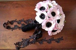 Pink Anemone Wedding Flowers