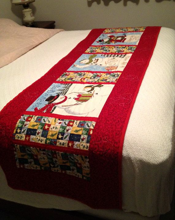 1000+ images about Bed Runner on Pinterest Runners, Quilting patterns and Easy patterns