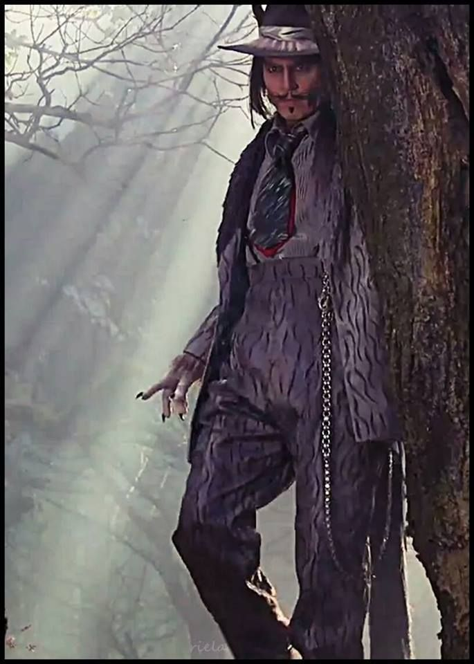 Big Bad Wolf in Into the Woods, Johnny Depp
