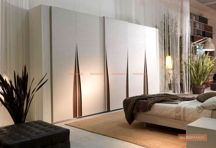 Style up your wooden wardrobe shutters see more beautiful for Bedroom wardrobe shutter designs